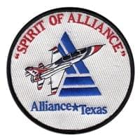 Spirit of Alliance Custom Patches