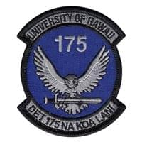 AFROTC Det 175 University of Hawaii (AFROTC Det 175 UH) Custom Patches
