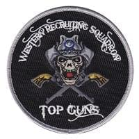 AFRC Western Recruiting Squadron Patches