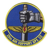 25th Air Support Operations Squadron (25 ASOS) Custom Patches