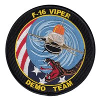 F-16C Viper Demo Team Patches