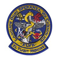 47th Medical Operations Squadron (47 MDOS) Custom Patches
