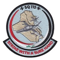 115th Squadron Patch (115 SQN) Custom Patches