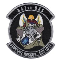 374th Operations Support Squadron  (347 OSS) Custom Patches