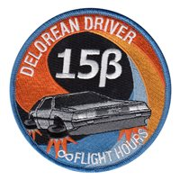 Test Pilot School TPS Class 15B (TPS Class 15B) Custom patches