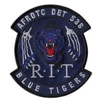AFROTC DET 538 Custom Patches
