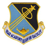 USAFA Dean of Faculty Patches