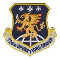 726 Operations Group Custom Patches