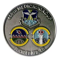 Buckley AFB Coins