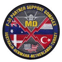 F-35 Partner Support Complex Patches