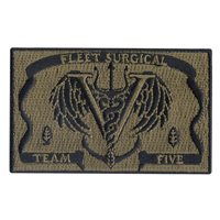 Fleet Surgical Team Five Custom Patches
