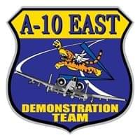 A-10 East Demo Team Custom Patches