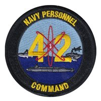 Navy Personnel Command Patches