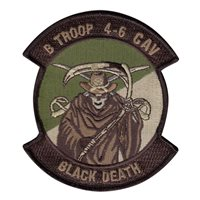 B Troop 4-6 CAV Patches