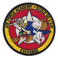 USAFA French Exchange Patches