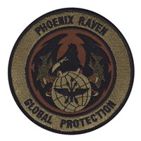Phoenix Raven Patches