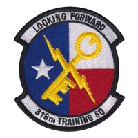 316 TRS Custom Patches