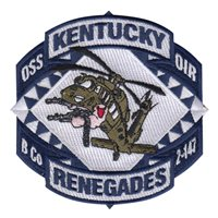 Kentucky Army National Guard Patches