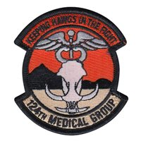 124 MDG Custom Patches