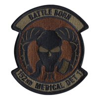 152 MDG Custom Patches