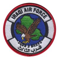 IQAF SQN 3 Custom Patches |