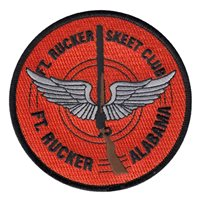 Skeet and Trap Club Custom Patches