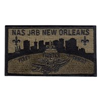 NAS JRB New Orleans Custom Patches