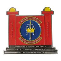 Lackland AFB challenge coins