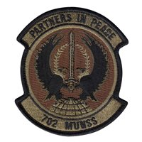 702 MUNSS Custom Patches