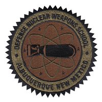 Defense Nuclear Weapons School Custom Patches
