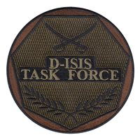 D-ISIS Task Force Custom Patches