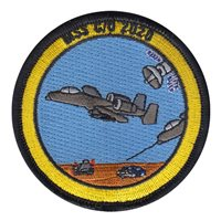USAFA MSS Department Custom Patches
