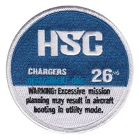 HSC-26 Custom Patches