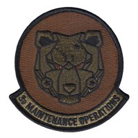 3 MOS Custom Patches
