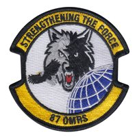 87 OMRS Custom Patches