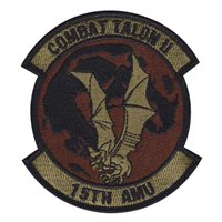 15 AMU Custom Patches