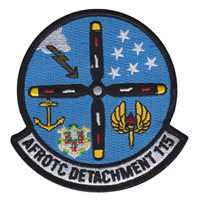 AFROTC Det 115 University of Connecticut Custom Patches