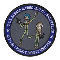 NAWCAD Custom Patches