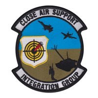 Close Air Support Integration Group Custom Patches
