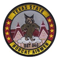 AFROTC Det 840 Texas State University Patches
