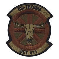 AFOSI Det 411 Patches
