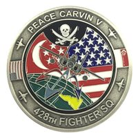 Mountain Home AFB Challenge Coins