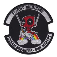 27 SOOMRS <P>Custom patches for 12th Aircraft Maintenance Squadron at Cannon Air Force Base, New Mexico. Our 12 AMU patches are 100% embroidered with Velcro backing.</P>Patches