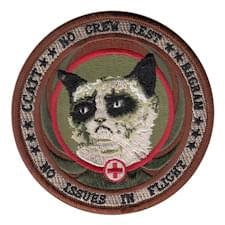 BAGRAM Grumpy Cat Patch