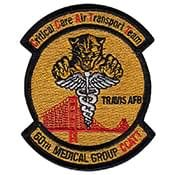 TRAVIS AFB - 50th Medical Group CCATT Patch