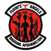 Furry's Angels BAGRAM, Afghanistan CCATT Patch