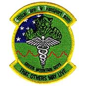 50th Medical Group CCAT Patch Design Sample 4
