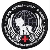 We Are Bronies - CCATT is Magic - CCATT Patch