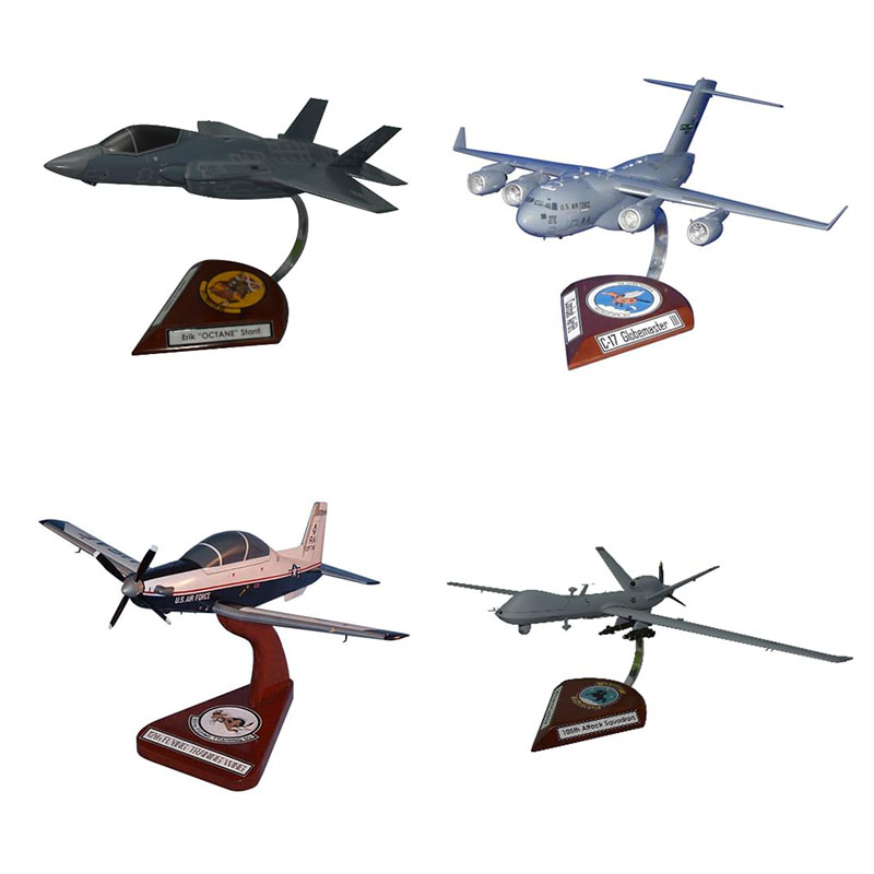 Custom Airplane Model Product Spec Sheet