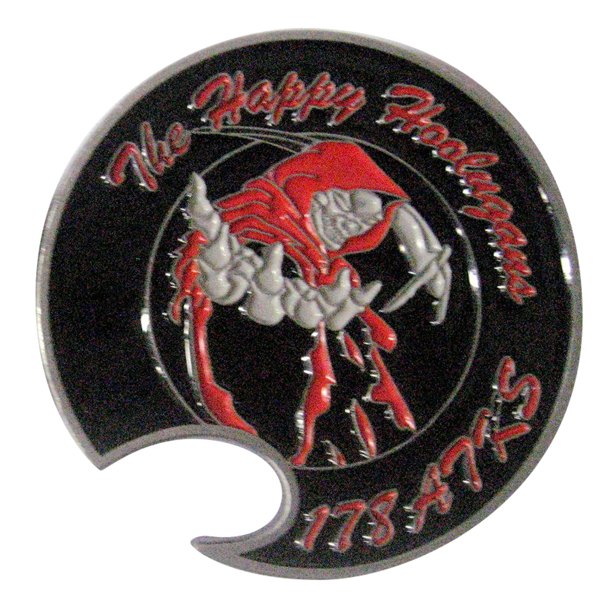 178 ATKS Reaper Bottle Opener Coin Back SAMPLE
